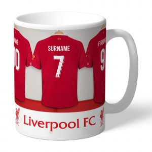 Liverpool F.C. Personalised Dressing Room Mug