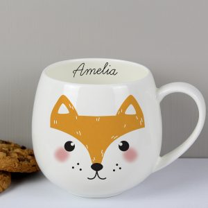 Personalised Fox Mug