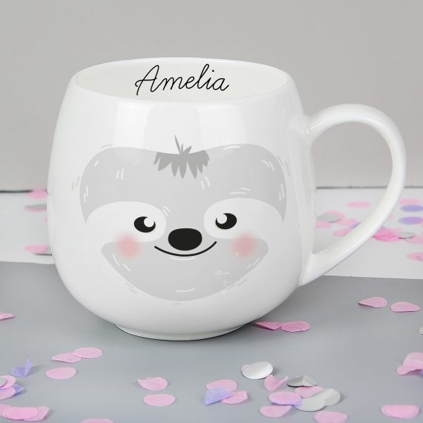 Personalised Sloth Mug