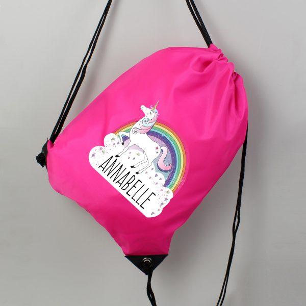 Personalised Unicorn Dance Kit Bag