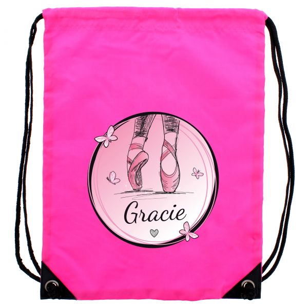 Personalised Ballet Bag