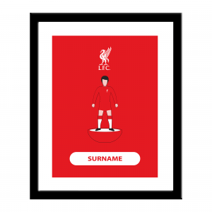 Liverpool F.C. Personalised Framed Print
