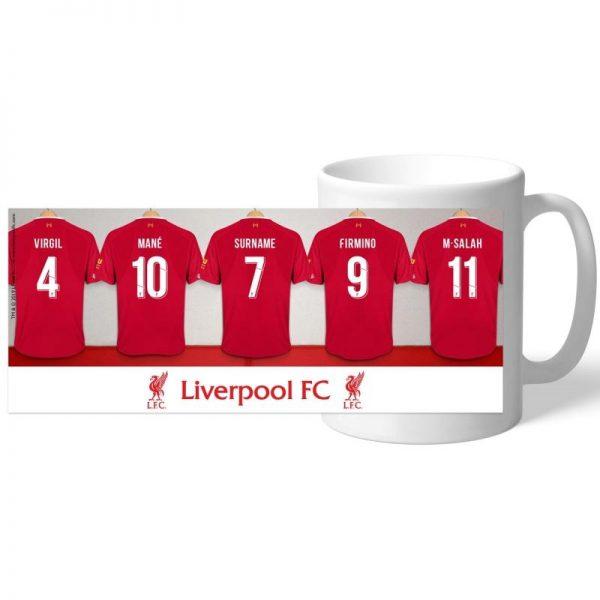 Personalised Liverpool F.C. Mug