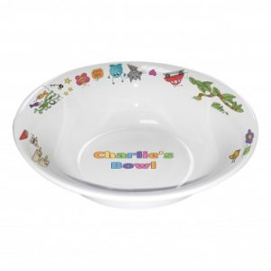 Personalised Children's Bowl - Cartoon