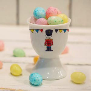 Personalised Children's Egg Cup Soldier