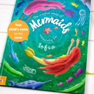 Personalised Mermaid Book