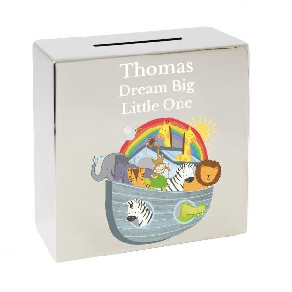 Noahs Ark Money Box Personalised