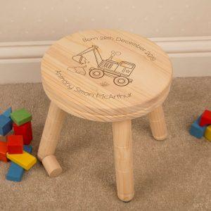 children stool digger design