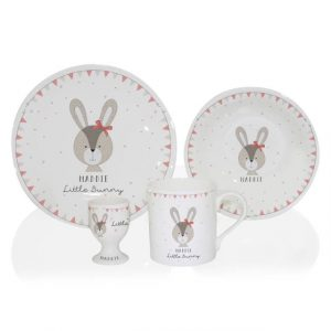 Little Bunny Personalised Breakfast Set