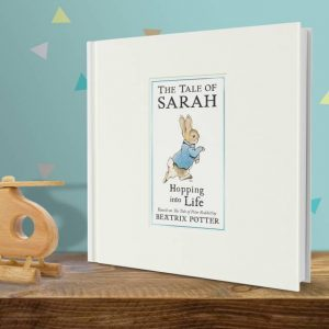 Peter Rabbit Hopping into Life Personalised Book