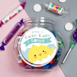 Personalised Easter Sweet Jar