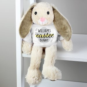 Personalised Easter Bunny Plush Toy