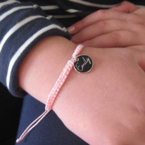 personalised friendship bracelet