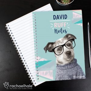 Personalised Dog Notebook
