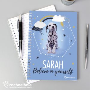 Personalised Dalmation Dog Notebook
