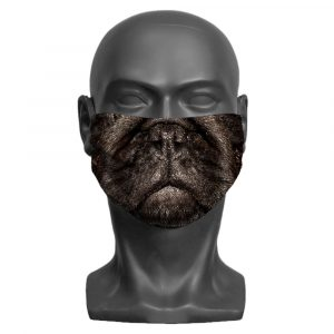 Pug Children's Face Mask