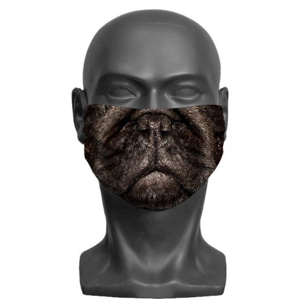 Pug Children's Face Mask