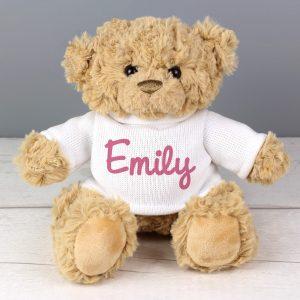 Personalised Teddy Bear - Pink