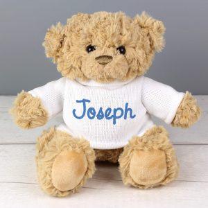 Personalised Teddy Bear - Blue