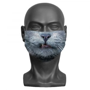 Cat Little Monster Face Mask