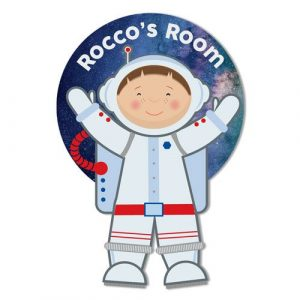Astronaut Personalised Door Plaque
