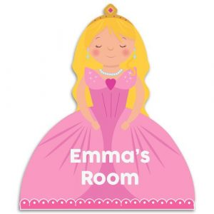 Princess Bedroom Door Plaque