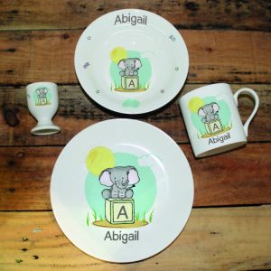 Elephant Safari Breakfast Set