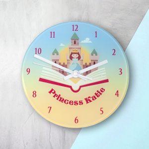 Storybook Princess Wall Clock