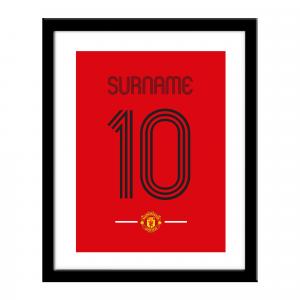 Manchester United FC Retro Shirt Print