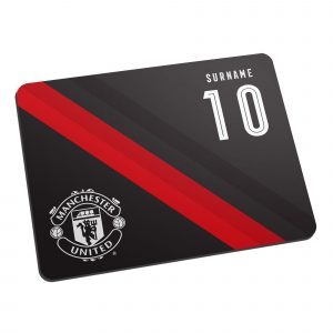 Manchester United FC Stripe Mouse Mat
