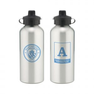 Manchester City FC Monogram Aluminium Water Bottle