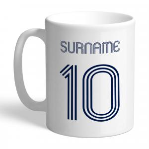 Tottenham Hotspur Retro Shirt Mug