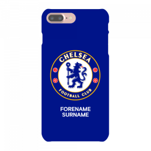Chelsea FC Bold Crest iPhone 8 Plus Phone Case