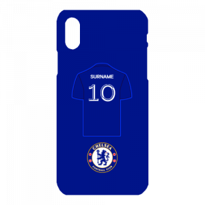 Chelsea FC Shirt iPhone X Phone Case