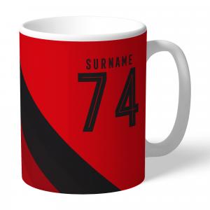 Manchester United FC Stripe Mug