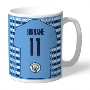 Manchester City FC We're Not Really Here Mug