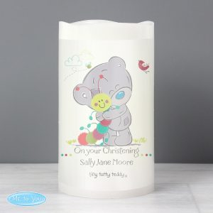 Personalised Tiny Tatty Teddy LED Candle