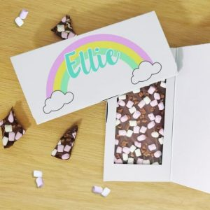 Rainbow Milk Chocolate Card