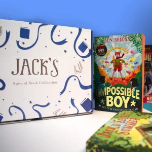 Personalised Reader Book Box Set For Boys