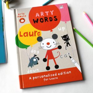 Arty Mouse Learning Words Activity Book