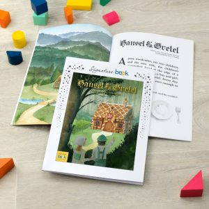 Personalised Hansel & Gretel Book