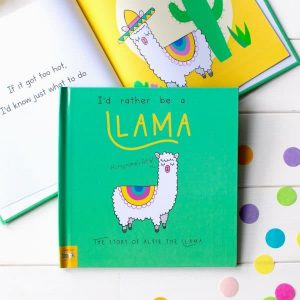 I'd Rather Be A Llama - Personalised Storybook
