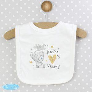Personalised Tiny Tatty Teddy I Heart Baby Bib
